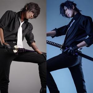 Shina「スーツ刀剣男士 -燭台切光忠×大倶利伽羅-」