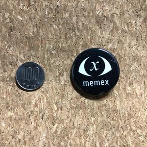 """【物理缶バッジ】memex tin badge """"0x3e8"""""""
