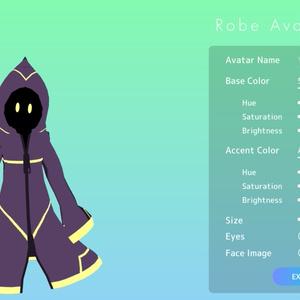 【VRMアバターメーカー】memex Robe Avatar Maker #めめめーかー