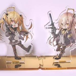 UMP45&UMP9アクリルスタンド(兼アクリルキーホルダー)