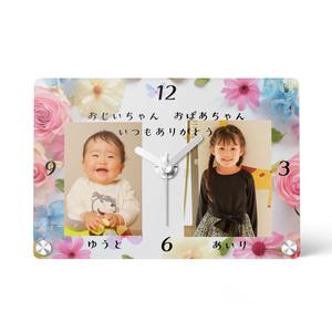 【オーダーメイド】還暦祝い◇名入れオーダーメイド時計◇写真入り