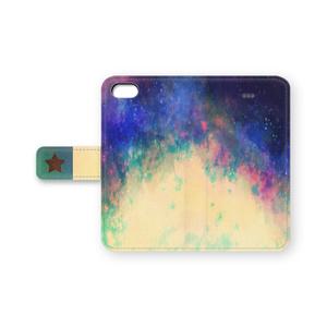 手帳型iPhoneケース -宇宙柄ー