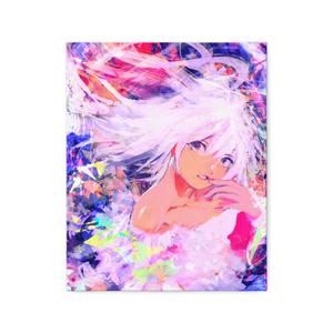 『開花』キャンバス