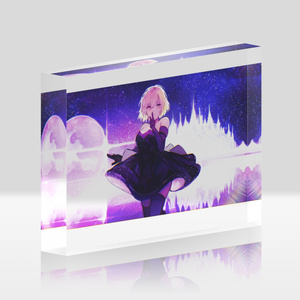 Luminous Acrylic Block