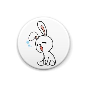 あくびウサギ