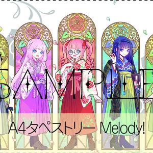 「帝都恋愛物語」A4タペストリー:Melody!/GIFT