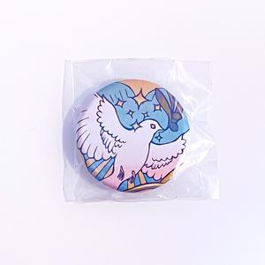 鳩の惑星 (32mm 缶バッヂ)