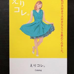 えり大型ポスター+えりコレ(展示写真説明カタログ) セット販売