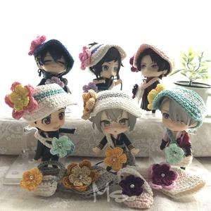 ねんどろいど用 お花付お出かけセット(帽子+鞄)