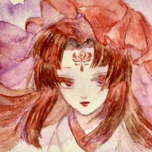 花の精霊シリーズ ミニ原画