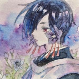 花の精霊シリーズ ミニ原画 第2弾