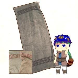 暁アイクのバンダナ風肉タオル
