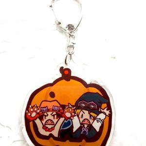 アクリルキーホルダー(ASかぼちゃ)BYちゃやま