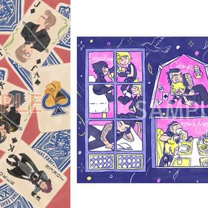 FFXV 大判カードセット(card set)