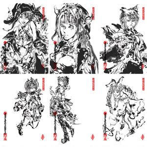ポストカード6種セット