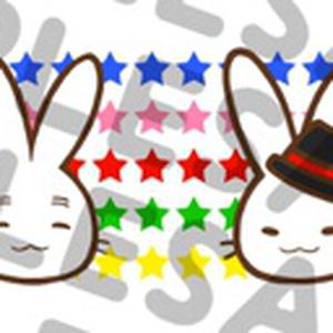 PEACE★RABBIT お顔マスキングテープ