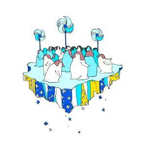 夏のペンギンパスケース