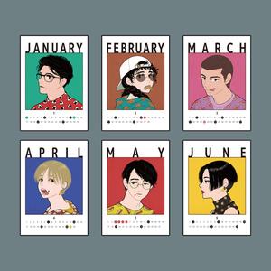 「GOCHISOUSAMA! 」2019カレンダー