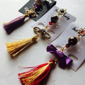 刀剣男子イメージ片耳用ノンホールピアス