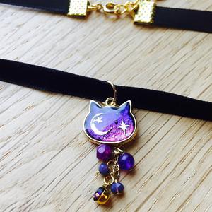 宇宙猫(ソラネコ)チョーカー