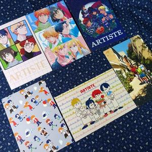 Artisteポストカード6枚セット