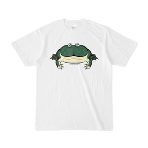 バジェットガエル白Tシャツ