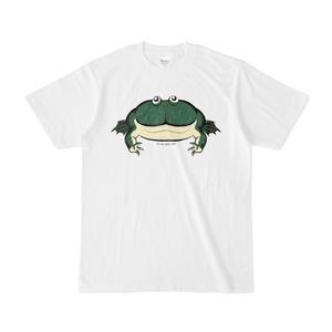 バジェットガエル両面プリントTシャツ
