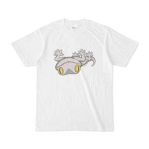 さかさまヤモリフロントプリントTシャツ