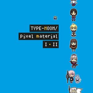 TYPE-MOON/pixel material Ⅰ・Ⅱ【おまけ付】