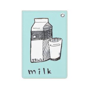 milkpack パスケース