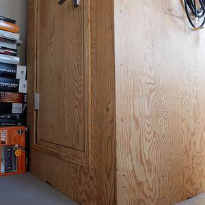 DIY防音室設計図 0.8畳