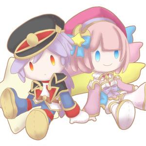 【白猫】ユキムラ&イロメロ アクリルキーホルダー