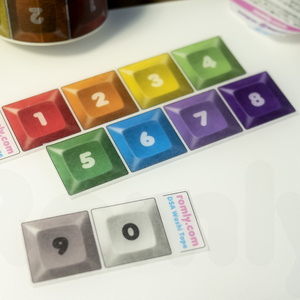 DSAキーキャップ マスキングテープ DSA Keycap Washi Tape
