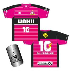 10th記念缶入りサッカーTシャツ【LIVE-G10】