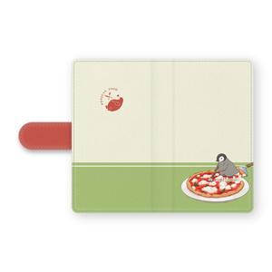 PENGUIN FOOD「ピッツァ/マルゲリータ」 Android 手帳型ケース