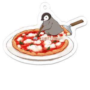 PENGUIN FOOD「ピッツァ/マルゲリータ」 アクリルキーホルダー