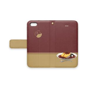 PENGUIN FOOD「オムハヤシ」  iphone 手帳型ケース