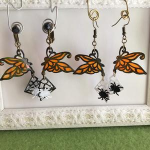 ハロウィン仕様 蝶と蜘蛛のダンス アクセサリー