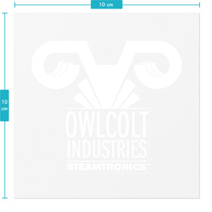 Owlcolt Industries Logo Sticker (Large )