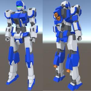 オリジナル3Dモデル『AF-001 Alzweck(アルツヴェック)』