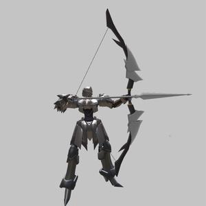 オリジナル3Dモデル『AF-004 AltStahl(アルトシュタール)』