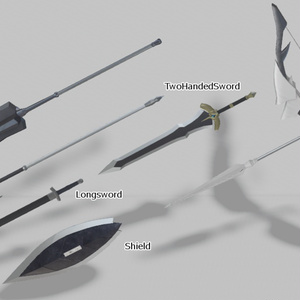 AF-004武器セット(単体販売)