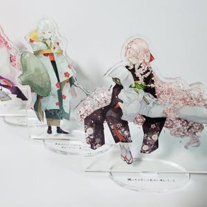 春の精霊シリーズ アクリルフィギュア