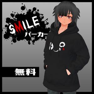 【無料】SMILEパーカー【VRoid用】