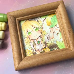ミニ原画*初恋はレモンの味