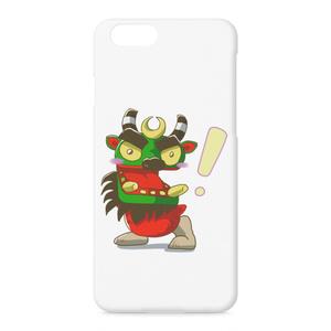 ビックリ!牛鬼 iPhone スマホ ハード ケース(pk-1010)