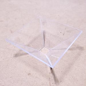 スマートフォン用3Dホログラム投影装置【組み立て済み】