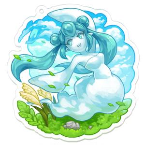 【テンミリRPG】風の精霊アクリルキーホルダー