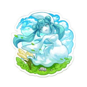 【テンミリRPG】風の精霊アクリルバッジ