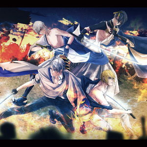 刀剣乱舞非公式画集/A4カバー付「拝啓、 」